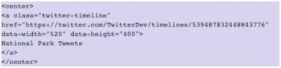 Como mostrar elementos de Twitter en WordPress   insertar twitter timeline