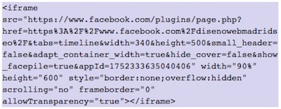 How to show FaceBook elements in WordPress | insert facebook page