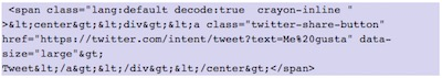 How to show Twitter elements in WordPress | insert button tweet webpage