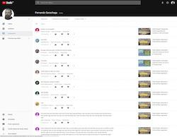 Youtube Creator Studio | Comentarios