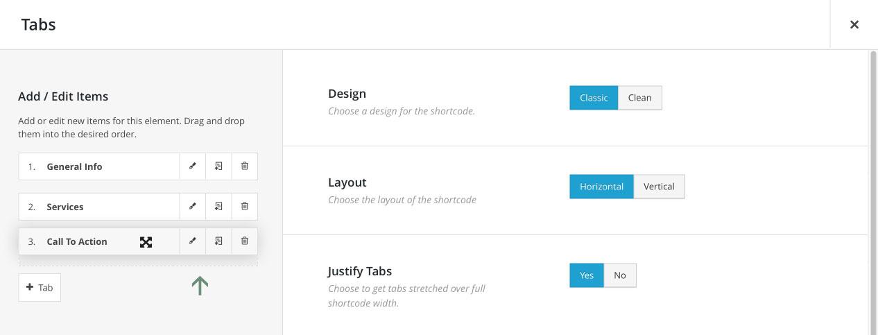 Avada WordPress Theme | Fusion Builder Child Element