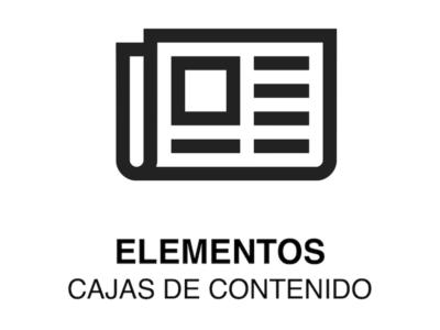 ELEMENTO WEB   Caja de Contenido