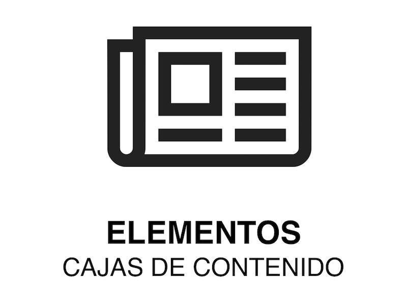 ELEMENTO WEB | Caja de Contenido