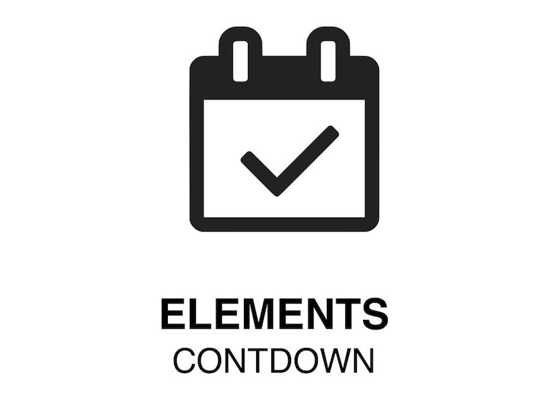 Web Element | CountDown - How to put a CountDown in a web