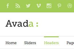 Diseño Web | WordPress | Avada | Encabezados
