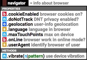 javascript-navigator